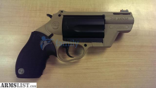 ARMSLIST - For Sale: Taurus Judge Public Defender Poly 410