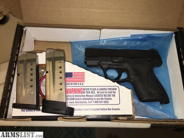 Armslist For Sale Shield 9mm Smith And Wesson M Amp P