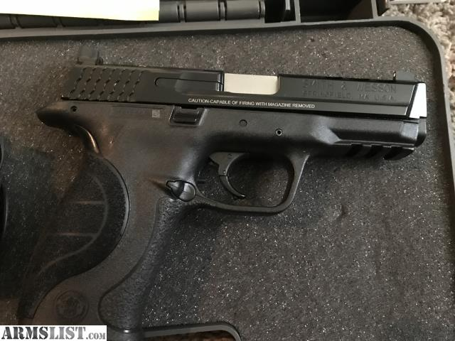 Armslist for sale smith and wesson m p 9mm pro core 9 mm for M p ported core 9mm