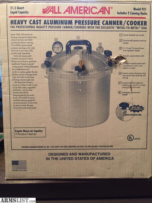 all american pressure cooker no 7 manual