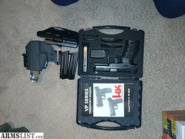 ARMSLIST - For Sale: HECKLER AND KOCH (HK USA) VP9 9MM