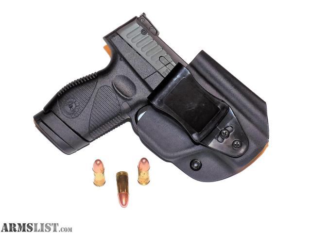Aggressive Concealment PTIWBLP IWB Kydex Holster fits Taurus PT709//PT740 slim