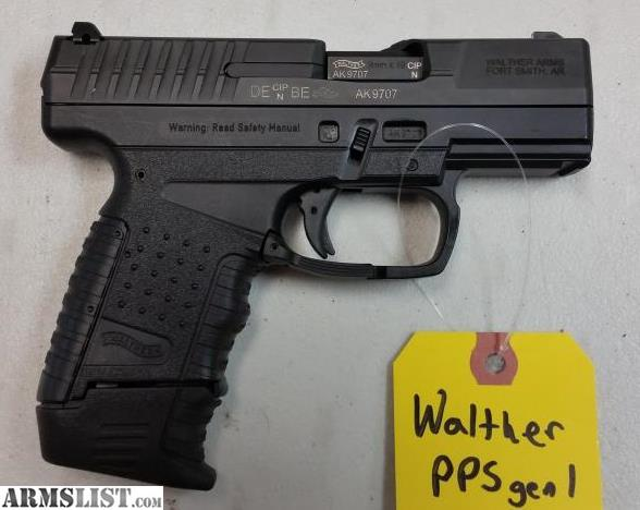 armslist for sale used in box walther pps m1 9mm