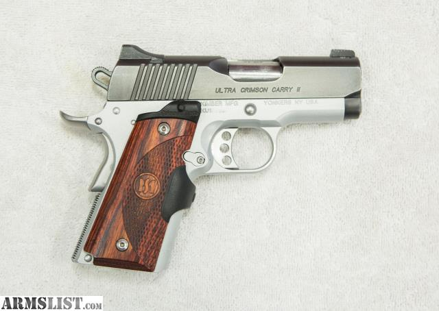 ARMSLIST - For Sale: Kimber 1911 Ultra Crimson Carry II .45