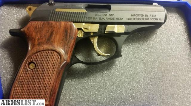 Armslist For Sale Bersa Thunder 380 Limited Edition Gold Enhanced