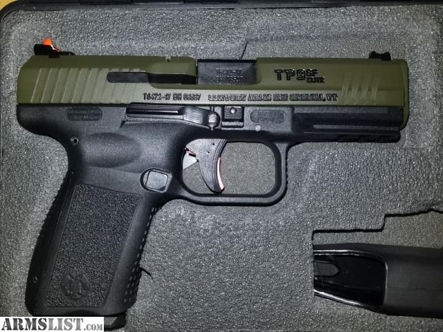 ARMSLIST - For Sale: New in the Box Canik TP9SF Elite, OD Green