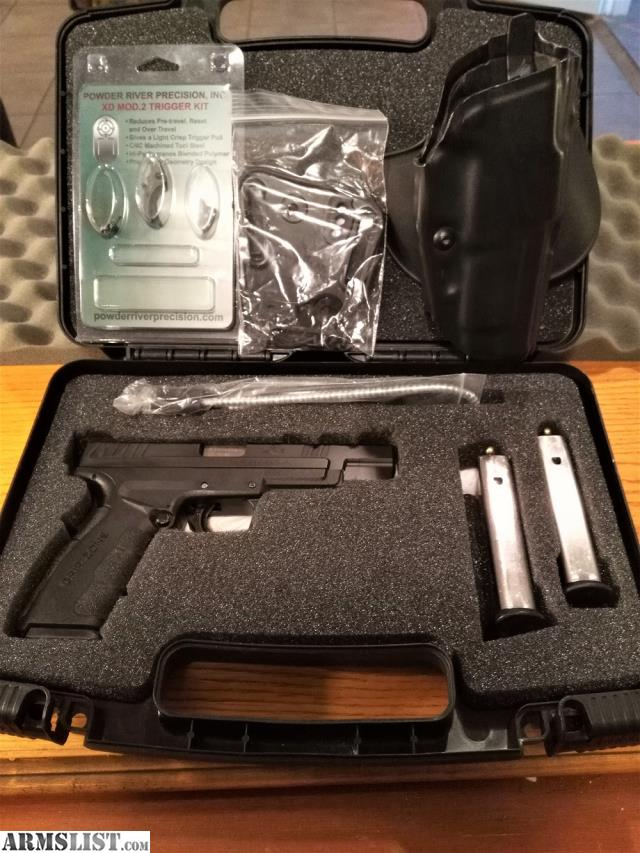 Armslist for sale springfield xd mod 2 tactical model for Wrap master model 1500
