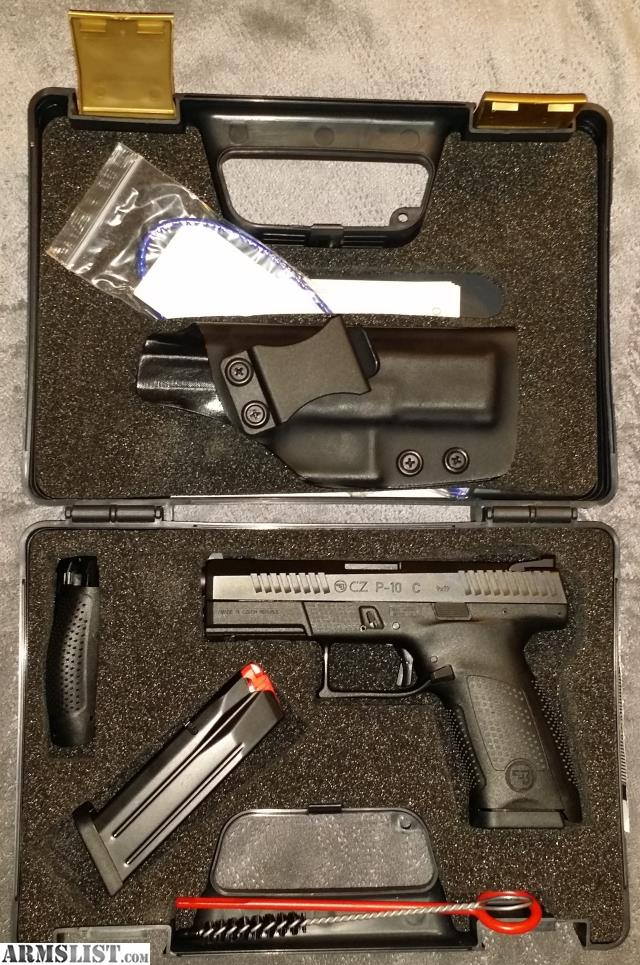 ARMSLIST - For Sale: 9mm CZ P10c New In Box w/Kydex IWB Holster
