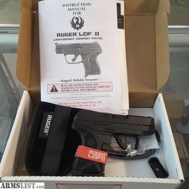ARMSLIST - For Sale: $209 99 - RUGER LCP 2 SEMI-AUTO  380