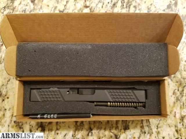 ARMSLIST - For Sale/Trade: Grey Ghost Glock 17 slide v2