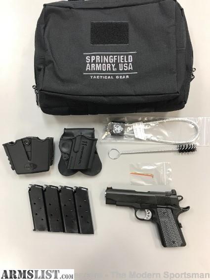 ARMSLIST - For Sale: Springfield Range Officer Elite Compact