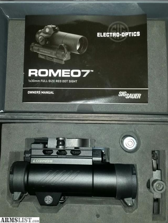 ARMSLIST - For Sale: New Sig Sauer Romeo 7
