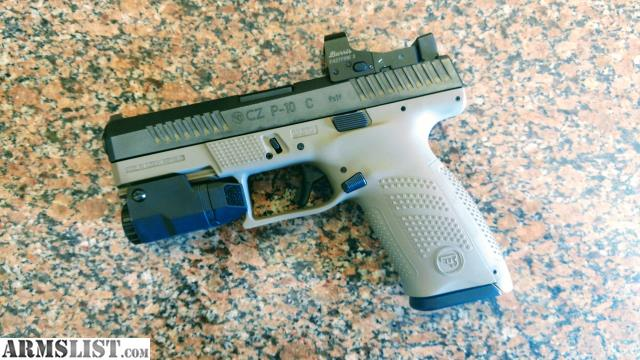 ARMSLIST - For Sale: Custom CZ P10c