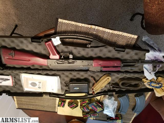 ARMSLIST - For Sale: Romanian AK 47 with accessories