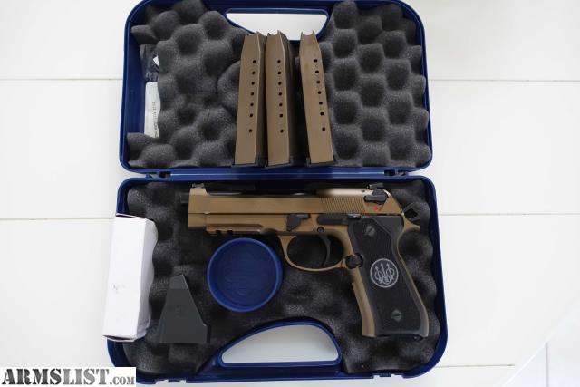 ARMSLIST - For Sale: Beretta 92a1 Burnt Bronze