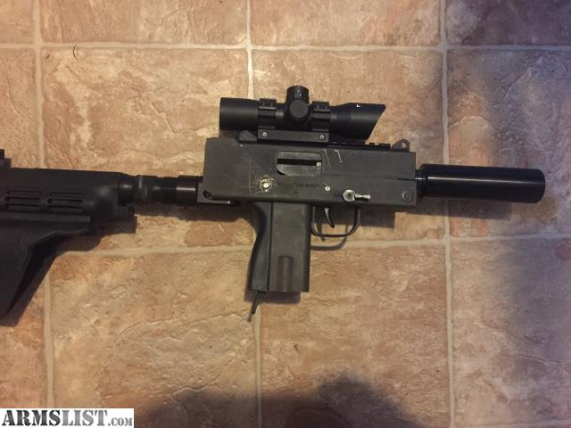 ARMSLIST - For Sale: Master arms mac 10 (45acp)