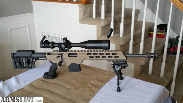ARMSLIST - For Trade: Rem 700  308 w/ mdt tac21 chassis