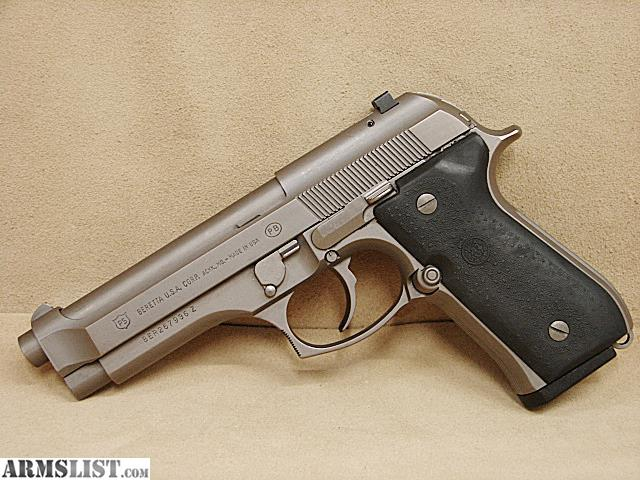 ARMSLIST - For Sale: Beretta 92D 9mm All Stainless DAO