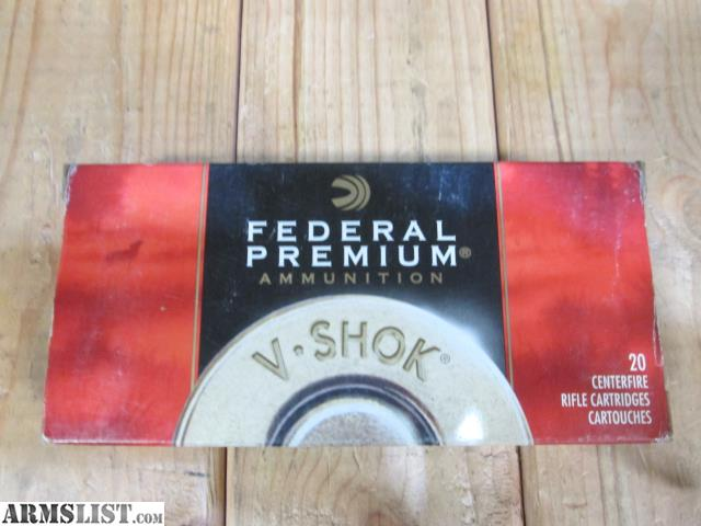 ARMSLIST - For Sale: 243 WIN  Federal Premium Sierra