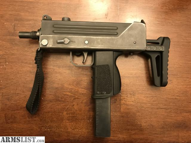 ARMSLIST - For Sale: Mac 10/9mm transferable machine gun