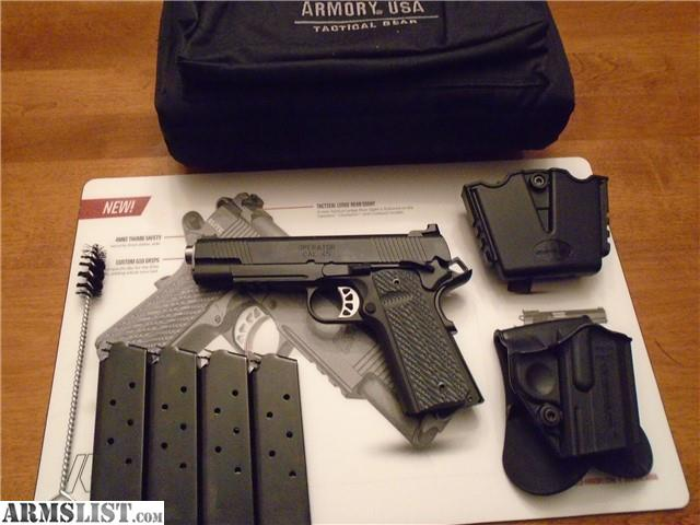 ARMSLIST - For Sale: Springfield Armory Range Officer Elite Operator