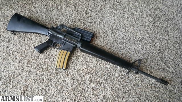 Armslist For Sale Ar15 M16a1 Replica Rifle Build