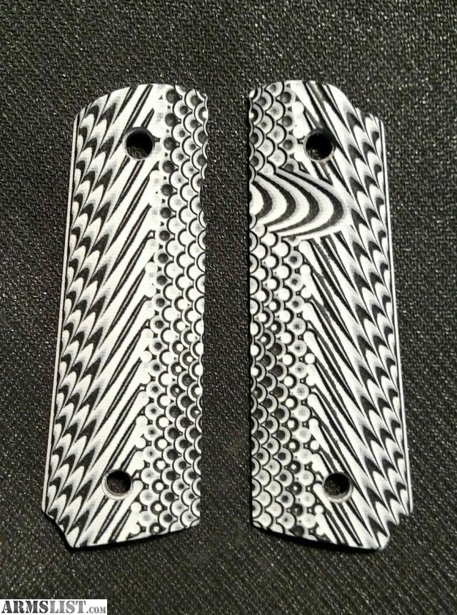 ARMSLIST - For Sale: New VZ Operator II™ Zebra G10 Grips Full Size 1911