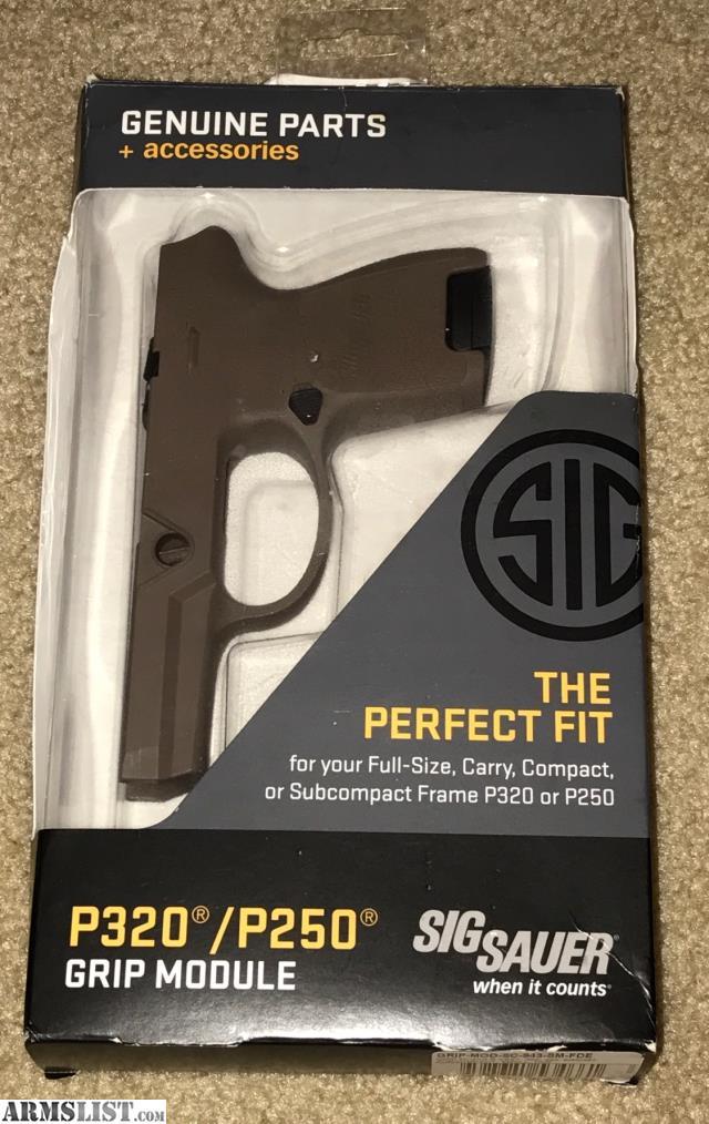 ARMSLIST - For Sale: Sig Sauer P320 FDE Sub-Compact Grip