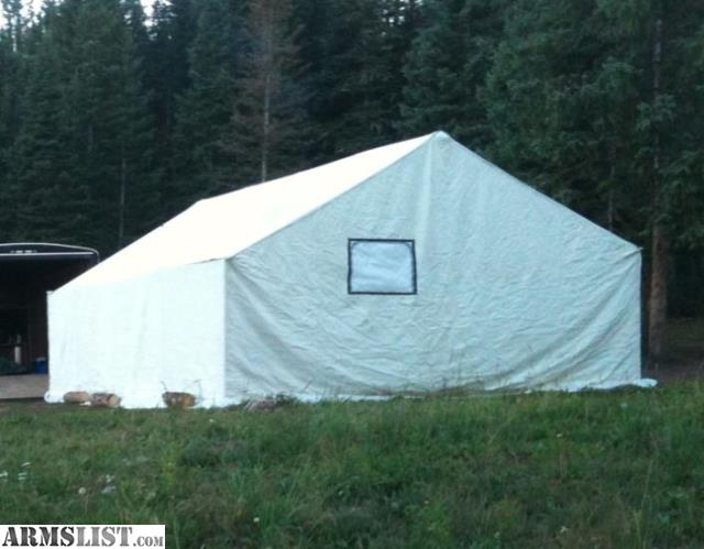 Armslist for sale montana canvas 16 39 x20 39 tent for A frame canvas tents for sale