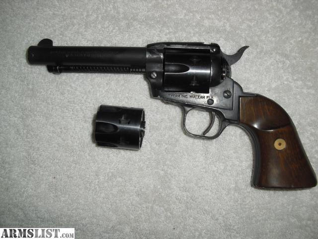 Restricted - Tanfoglio Model TA76 .22 LR Cal 6 Shot