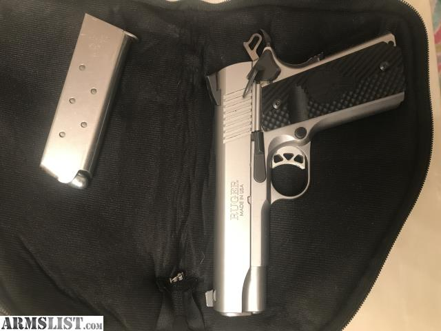 ARMSLIST - For Sale/Trade: Ruger sr1911 commander w/VZ grips