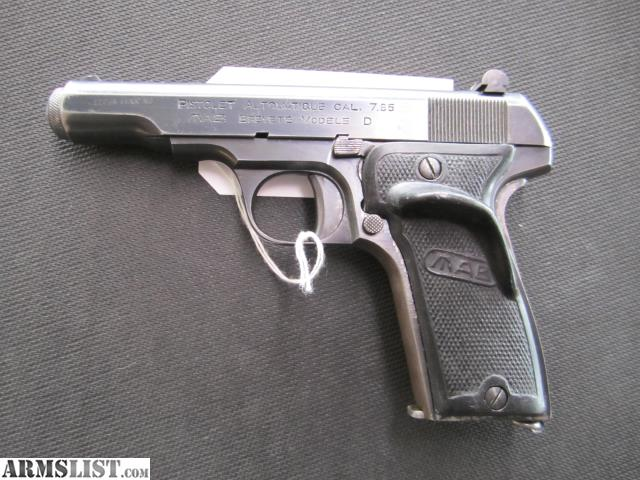 ARMSLIST - For Sale: French MAB Model D 7 65mm Target Pistol