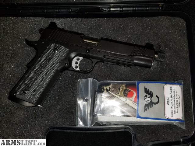ARMSLIST - For Sale/Trade: Kimber TLE/RL ll 9mm 5