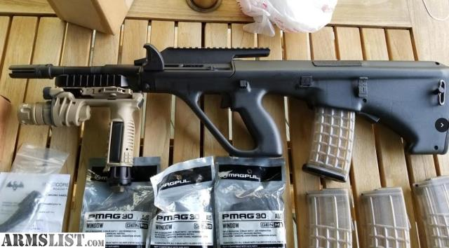 ARMSLIST - For Sale: STEYR AUG A3M1 like new, with accessories