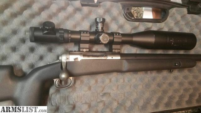 ARMSLIST - For Sale: Savage model 16 stainless with Bartlein