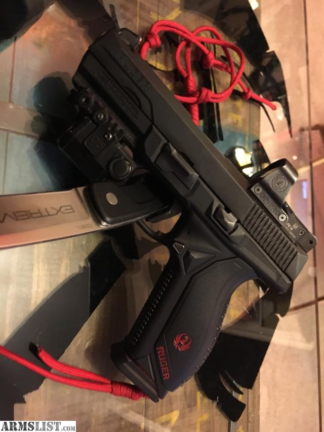 ARMSLIST - For Sale: Ruger American pistol 9mm deltapoint pro