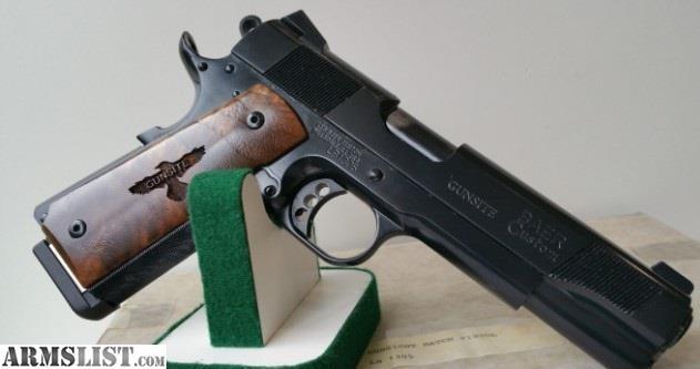 Armslist For Sale Les Baer Gunsite 1911 Prototype