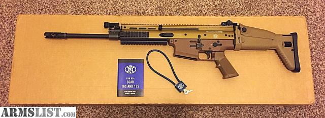 ARMSLIST - For Sale: Used FN SCAR 17S FDE