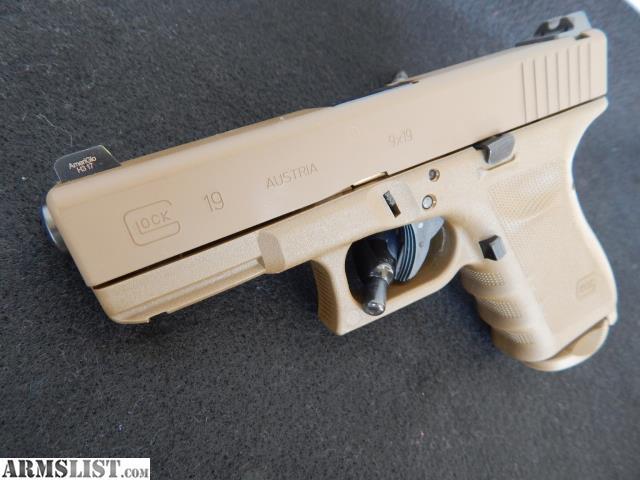 ARMSLIST - For Sale: Glock 19 RTF2 Vickers