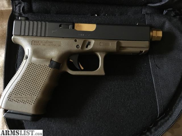 ARMSLIST - For Trade: Glock 19 Gen 4 FDE frame