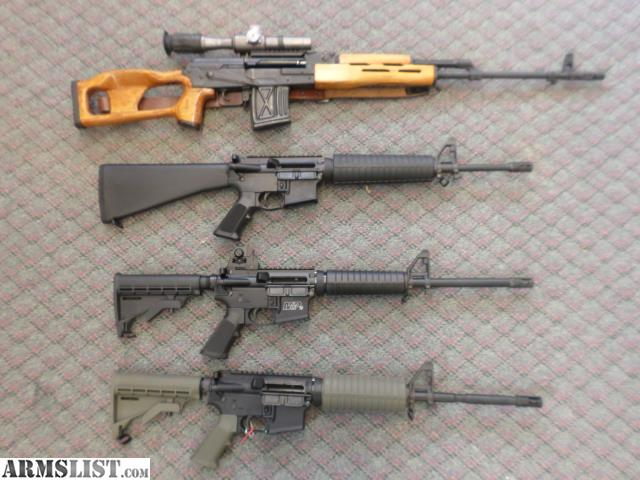 ARMSLIST - For Sale: DIRT CHEAP AR-15'S & DRAGUNOV PSL ...