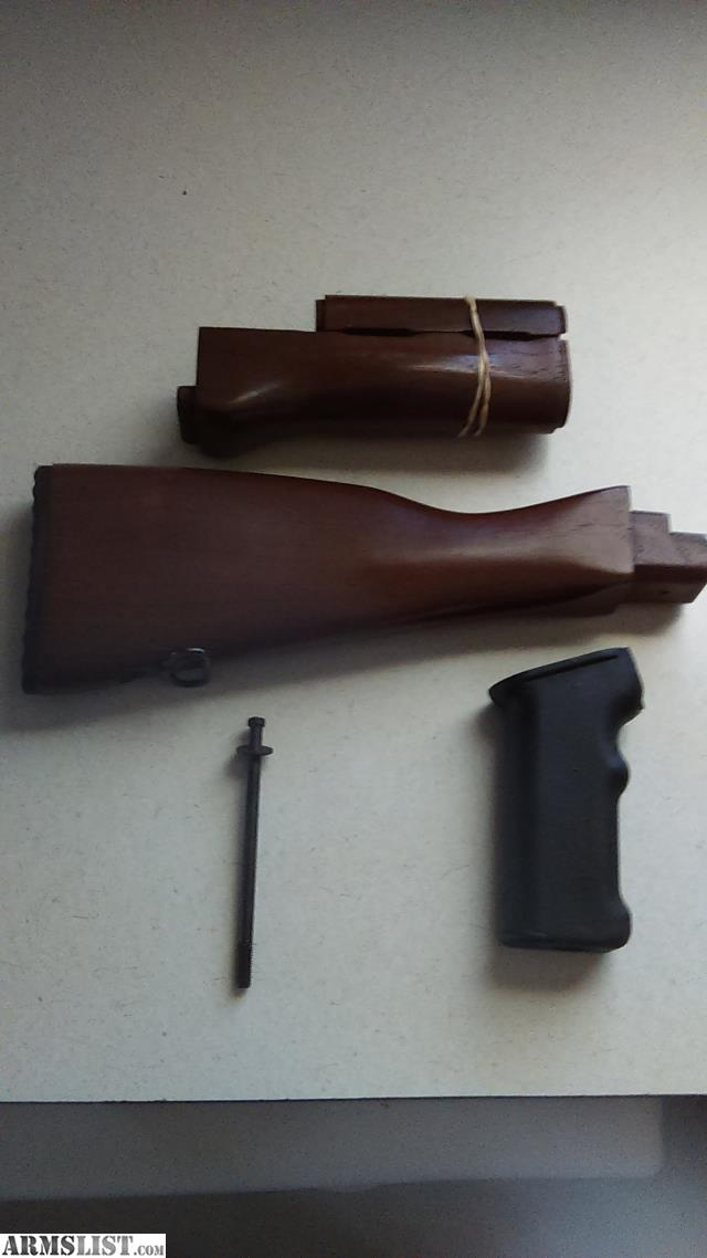 Armslist for sale ak47 74 wood furniture set plus grip Ak 47 wooden furniture