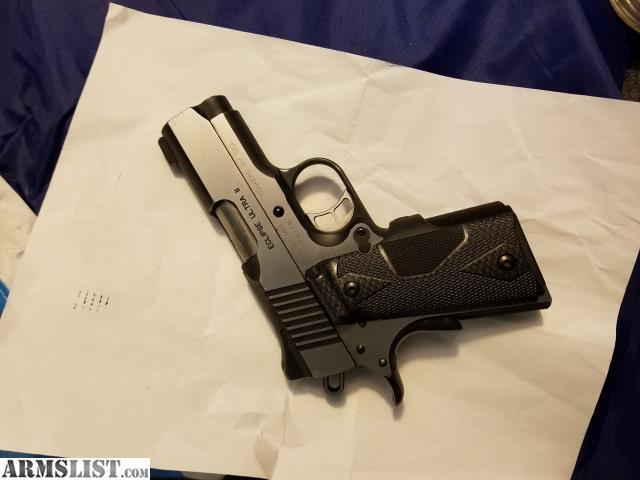 ARMSLIST - For Sale: Kimber 1911 crimson trace laser grips