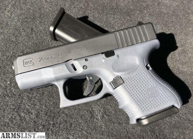 ARMSLIST - Want To Buy: WTB/WTT4 GREY Frame Glock 26 or 43
