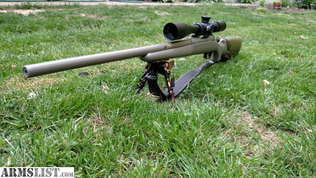 Savage Model 10 Bolt Action Chambered In 65 Creedmoor Heavy Bull Barrel Accutrigger Tan Cerakote Fired Very Little Leatherwood 6 By 24 Zoom Mil Dot