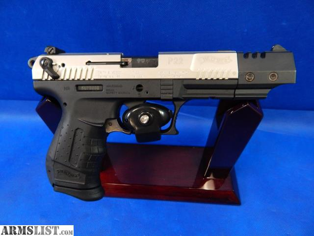 ARMSLIST - For Sale: Walther P22 |  22 LR | Pistol | Layaway