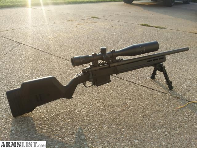 Armslist For Sale Remington 700 Sps Tactical With Magpul Stock