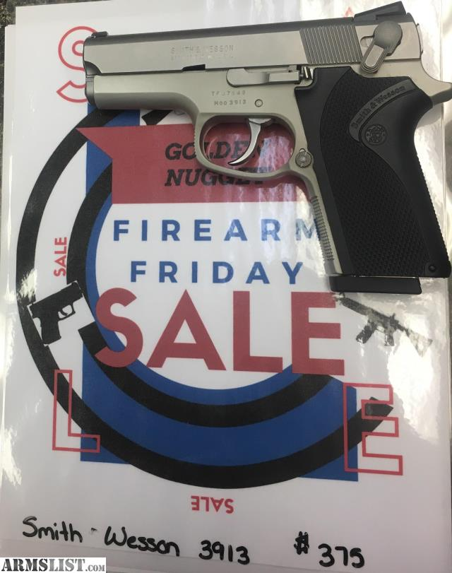 Armslist for sale firearm friday smith wesson 3913 for Golden nugget pawn jewelry holiday fl