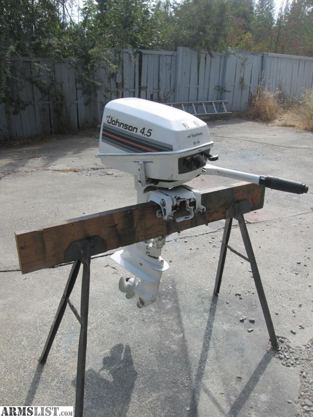 Armslist for sale trade exc condition johnson for 5hp outboard motor for sale