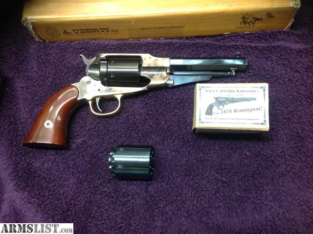 ARMSLIST - For Sale/Trade: Uberti 1858 Remington cap and